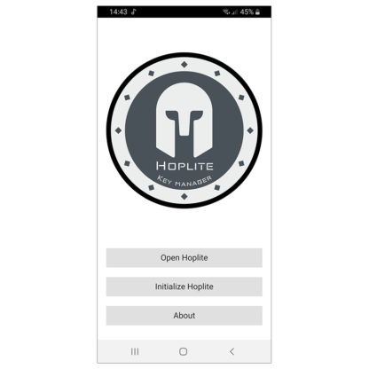 Hoplite Key Manager - Free mobile app for Android